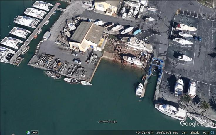 Le chantier naval Bernadou